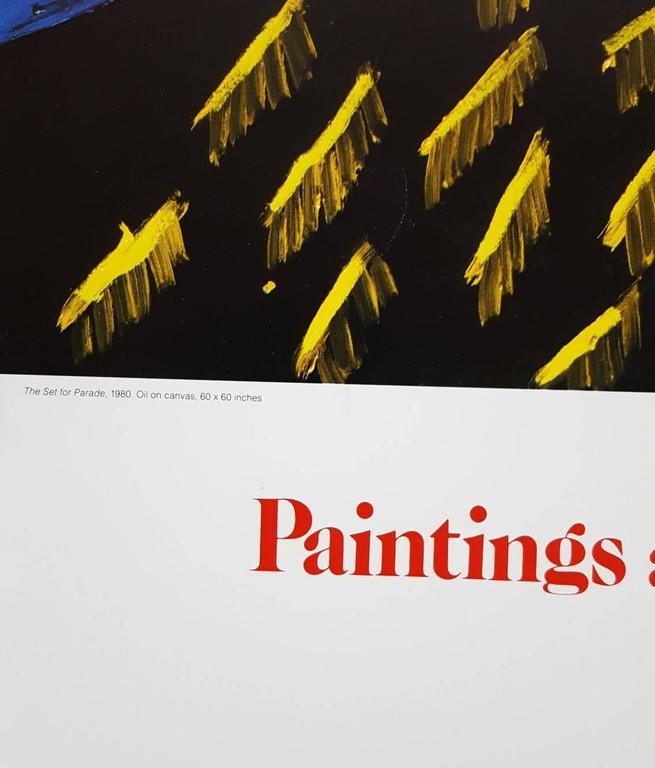 Set for Parade - Print by David Hockney