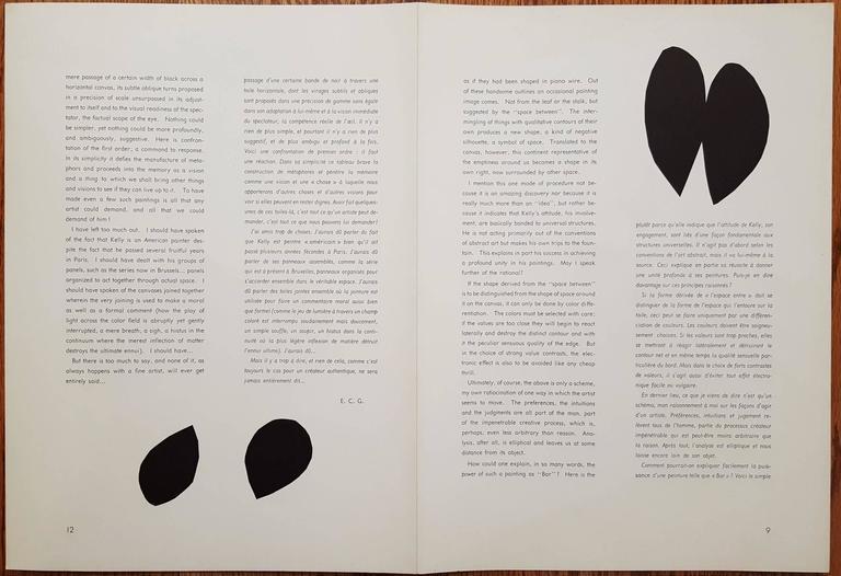 Derrière Le Miroir No. 110 (page 10, 11) For Sale 1