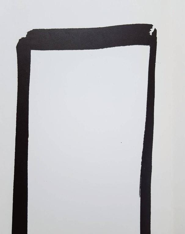 Derrière Le Miroir No. 149 (page 4, 13) - Minimalist Print by Ellsworth Kelly
