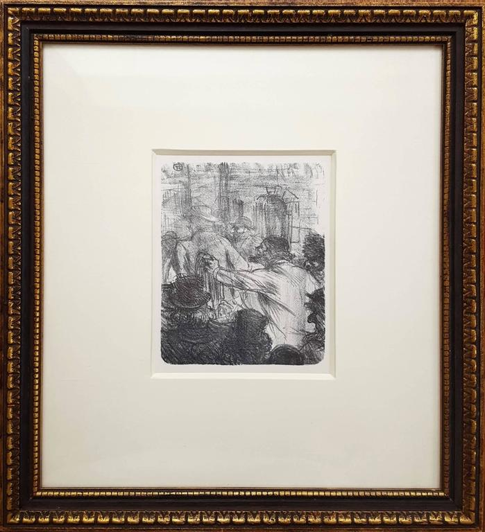 La Halle aux Draps. Cracovie - Print by Henri de Toulouse-Lautrec