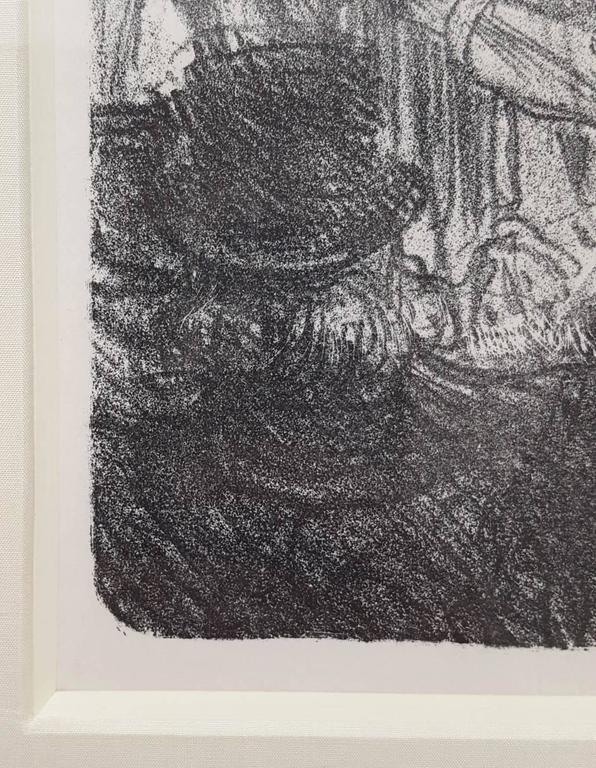 La Halle aux Draps. Cracovie - Impressionist Print by Henri de Toulouse-Lautrec