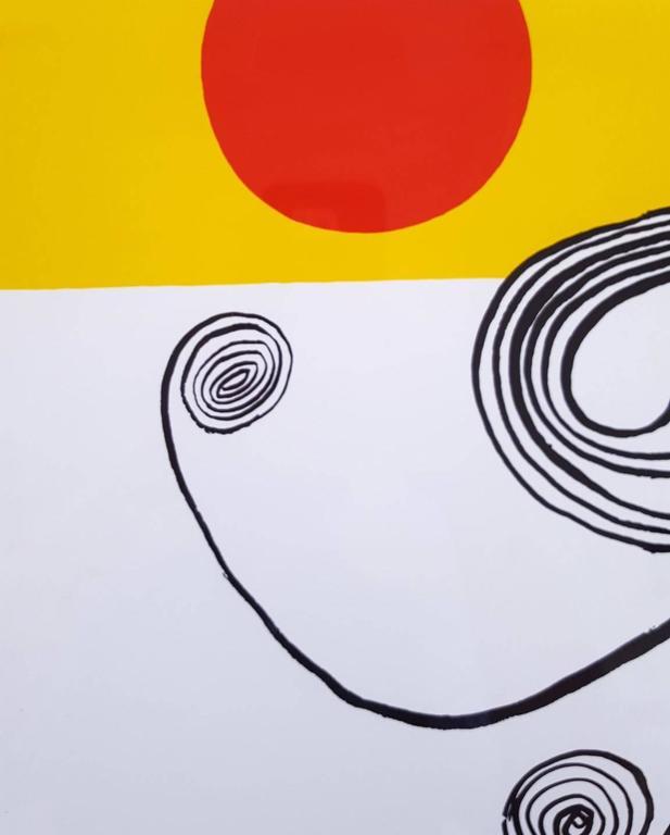 An original screenprint after American artist Alexander Calder (1898-1976) titled