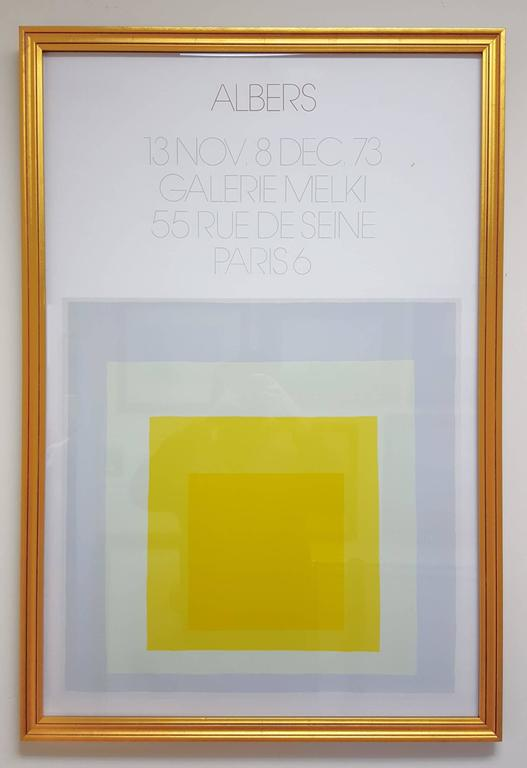 Homage to the Square: Galerie Melki 3 - Print by Josef Albers