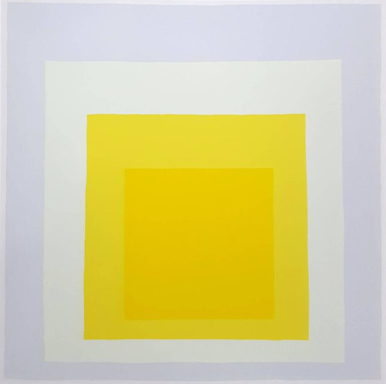 Homage to the Square: Galerie Melki 3 - Minimalist Print by Josef Albers