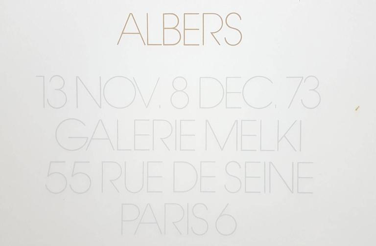 Homage to the Square: Galerie Melki 3 7