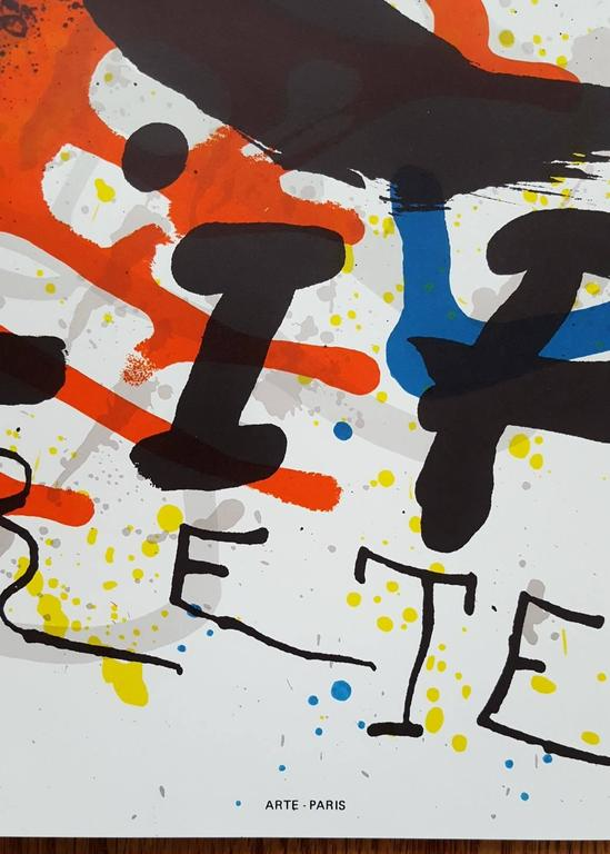 Sobreteixims - Print by Joan Miró