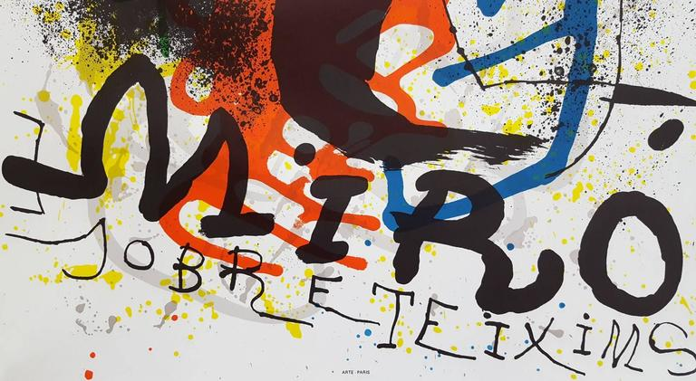 Sobreteixims - Surrealist Print by Joan Miró