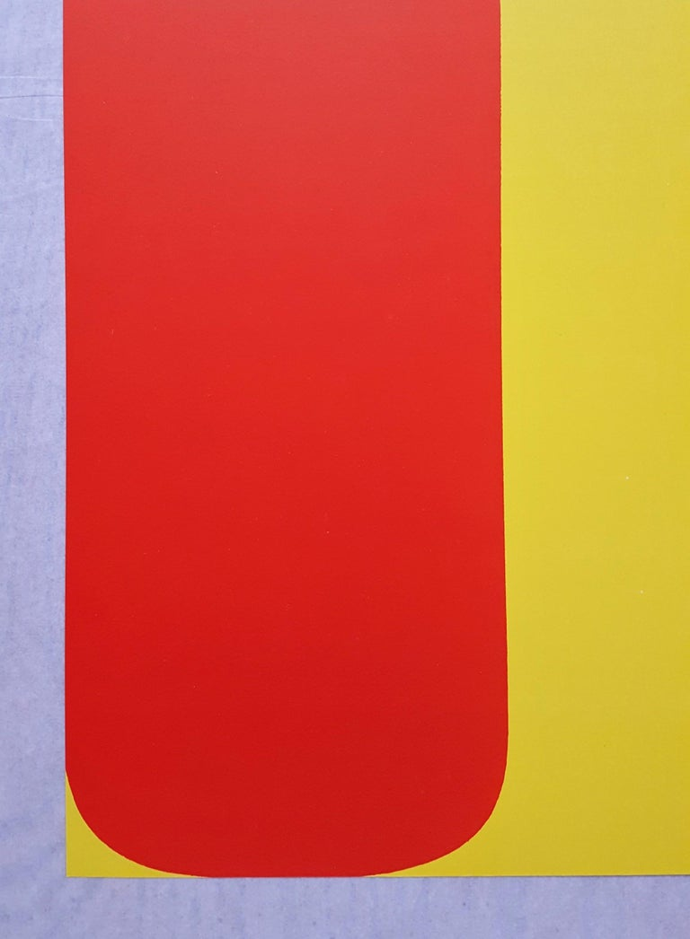 Derrière Le Miroir No. 149 (page 8,9) - Print by Ellsworth Kelly