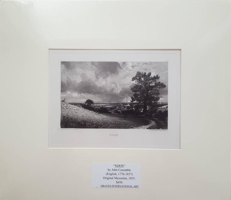 Noon - Print by John Constable