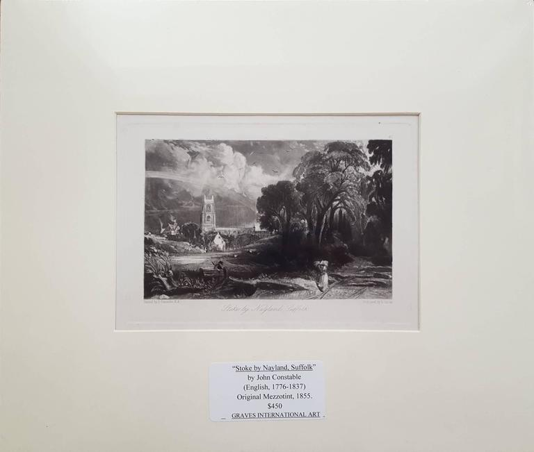 Stoke by Nayland, Suffolk - Print by John Constable