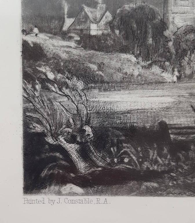 Stoke by Nayland, Suffolk - Victorian Print by John Constable