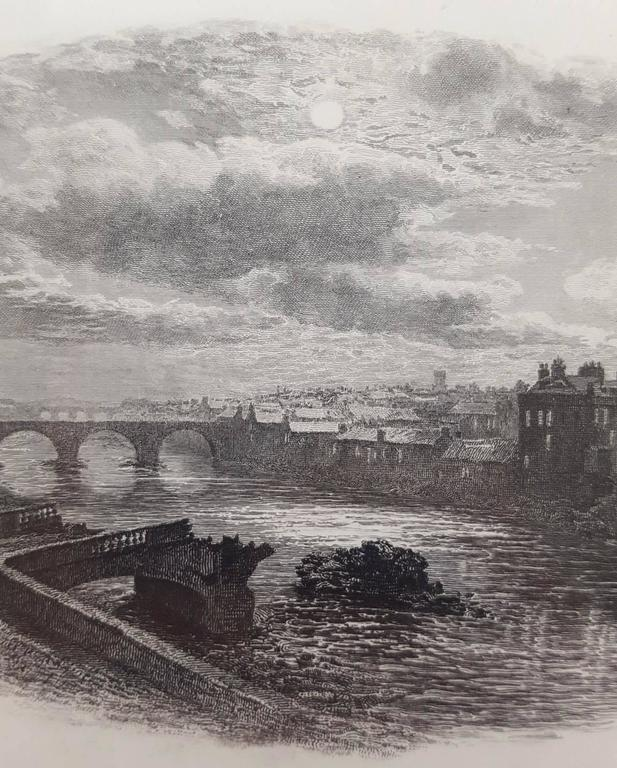 William ewart lockhart the bridge of ayr scotland print at 1stdibs for St mary redcliffe swimming pool
