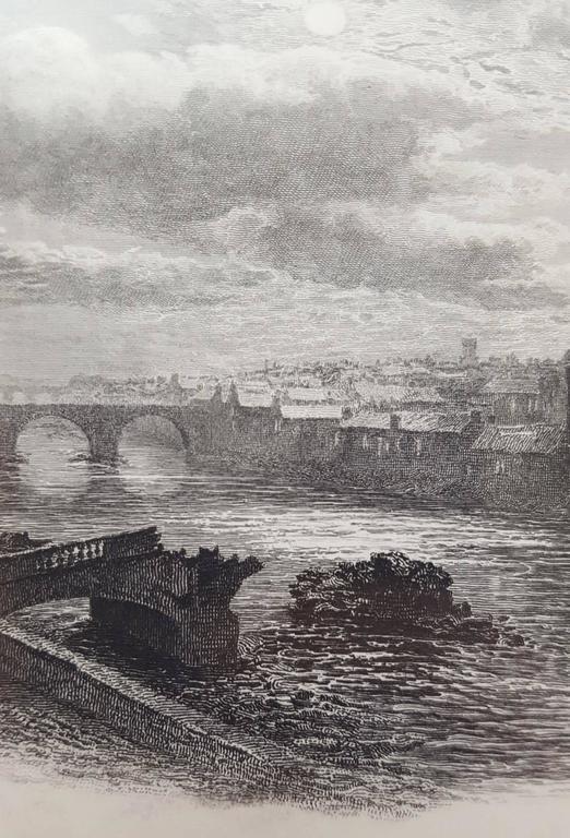 William Ewart Lockhart The Bridge Of Ayr Scotland Print At 1stdibs