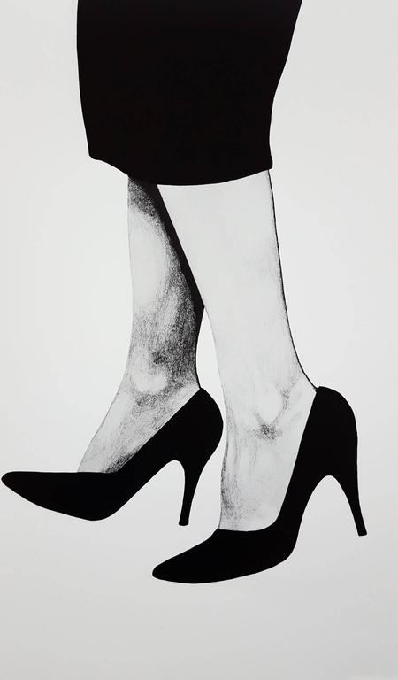 Gretchen - Print by (after) Robert Longo