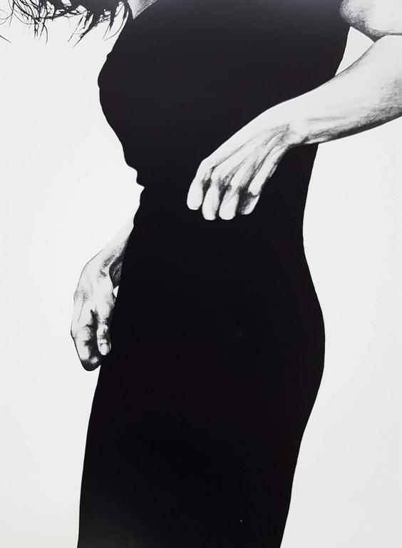 A vintage offset-lithograph exhibition poster after American artist Robert Longo (1953-) titled
