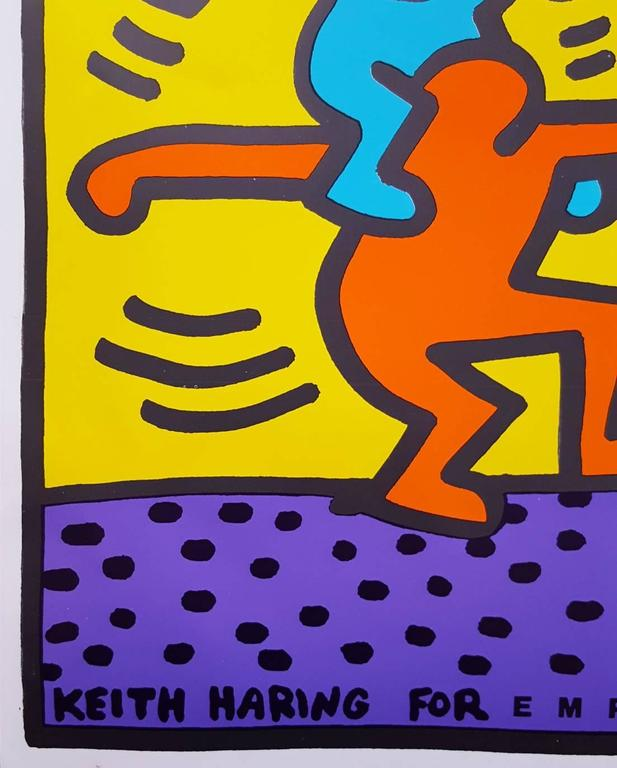 Keith Haring for Emporium Capwell 2