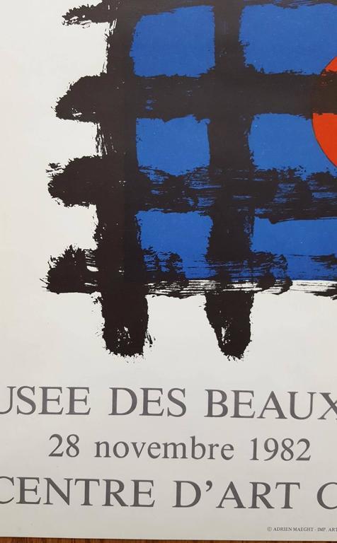 Aime Maeght et les Siens - Surrealist Print by Joan Miró