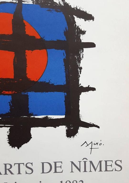 Aime Maeght et les Siens - Gray Figurative Print by Joan Miró
