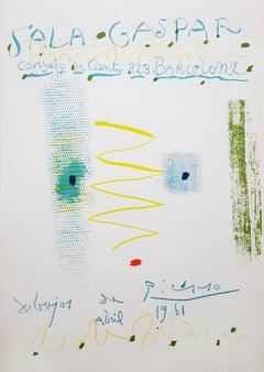 Sala Gaspar: Dibujos de Picasso