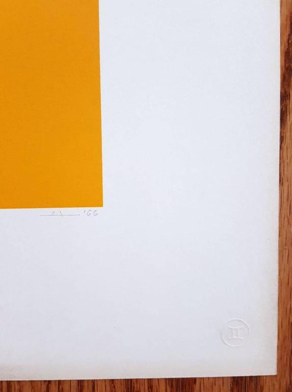 WLS VI (White Line Squares Series I) 3