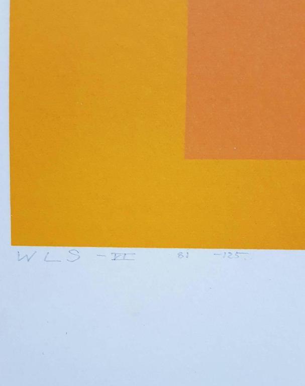 WLS VI (White Line Squares Series I) 4