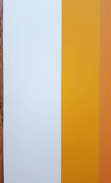 WLS VI (White Line Squares Series I) 10