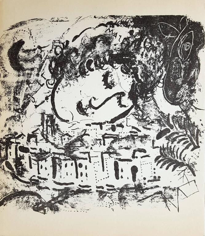 Marc Chagall Landscape Print - The Village