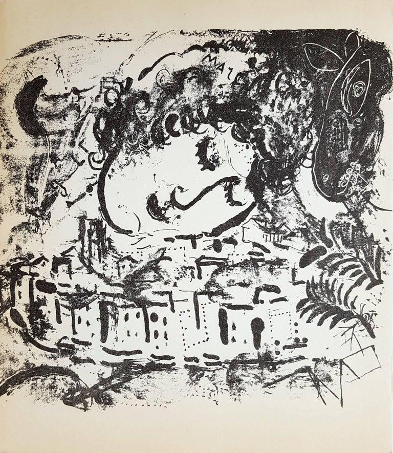 Marc Chagall Landscape Print - The Village