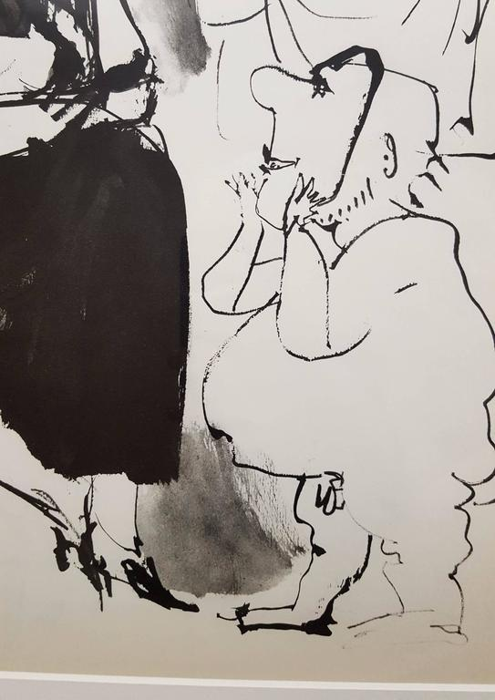 A vintage heliogravure after Spanish artist Pablo Picasso (1881-1973) titled