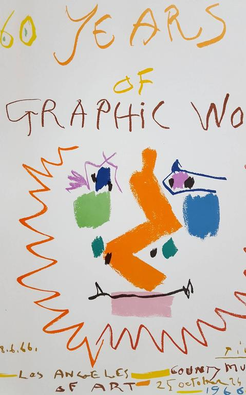 60 Years of Graphic Works: LACMA For Sale 3
