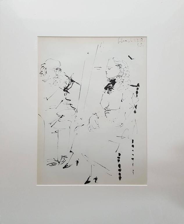 La Comedie Humaine - Print by (after) Pablo Picasso