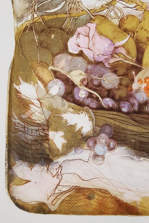 Earth - Beige Nude Print by Dagmar Mezricky