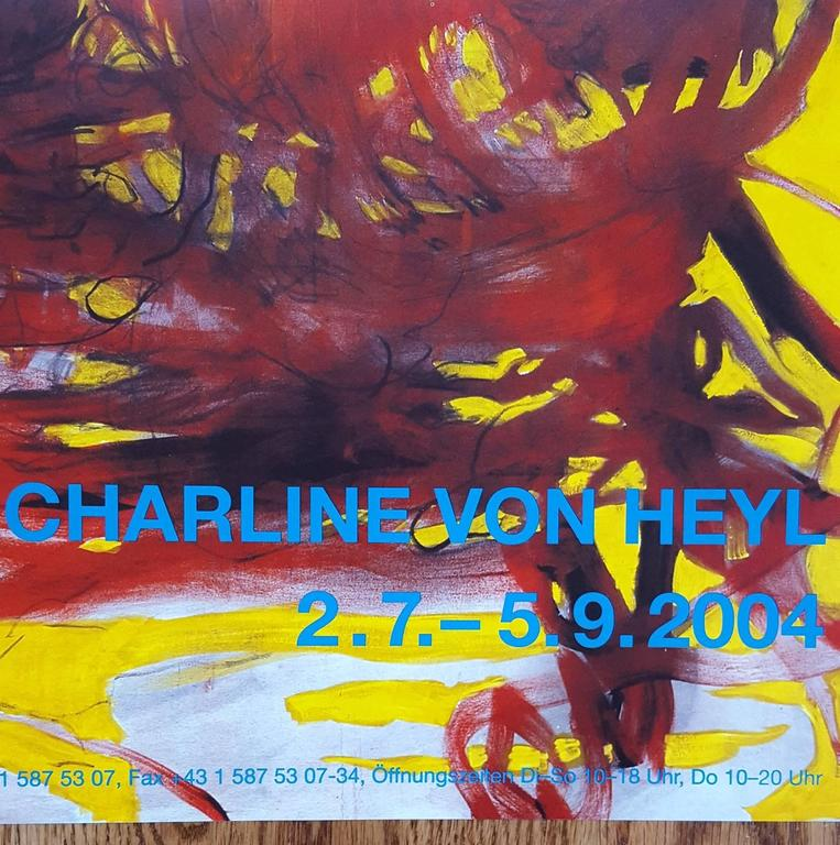 Charline Von Heyl at Secession For Sale 1