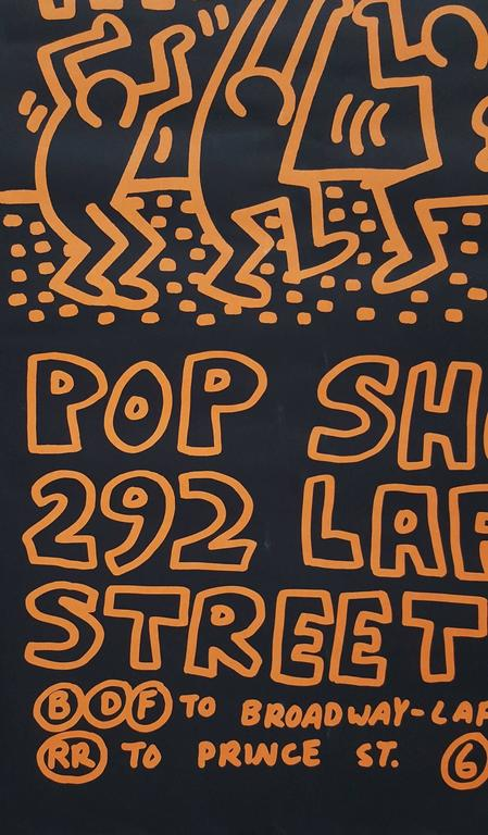 6904afea1 Keith Haring - POP-Shop, Print at 1stdibs