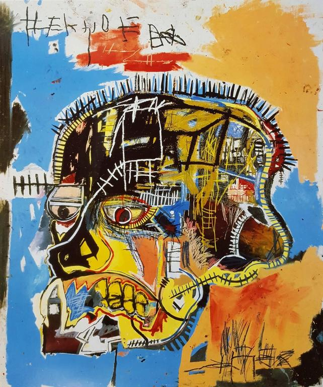 Untitled (Skull) - Print by (after) Jean-Michel Basquiat