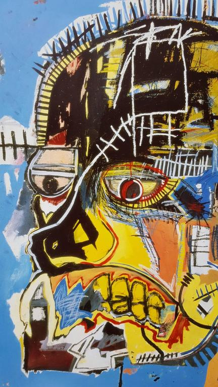 Untitled (Skull) For Sale 1