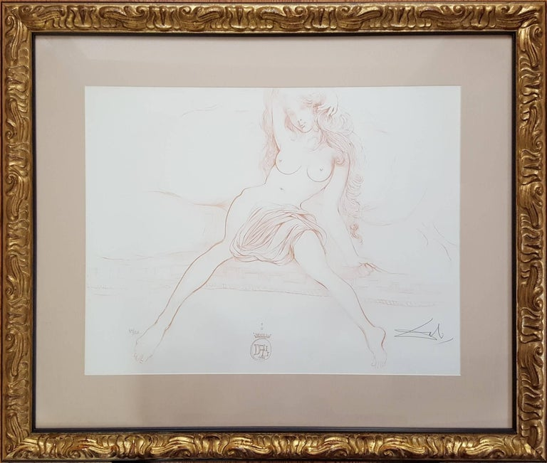 Nu au Sopha (Young Woman Arising) (A.F.158.70G) - Print by Salvador Dalí