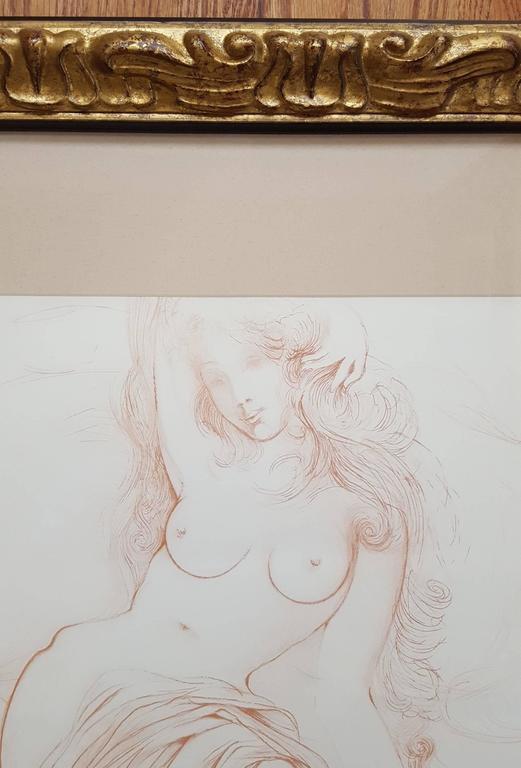 Nu au Sopha (Young Woman Arising) (A.F.158.70G) - Surrealist Print by Salvador Dalí