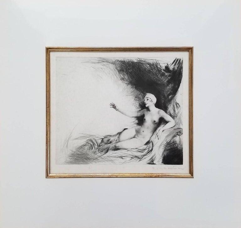 Danae - Print by Carl Joseph Bauer