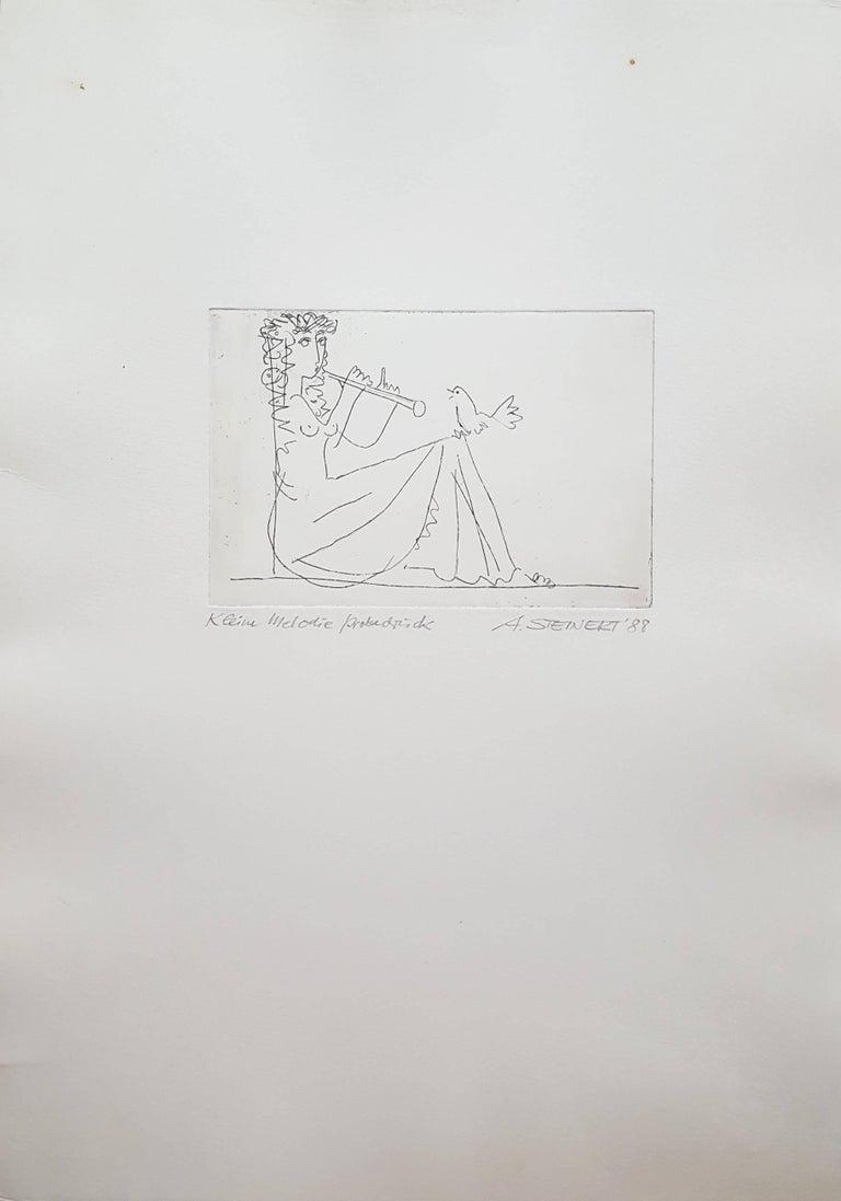 Kleine Melodie (No Melody) - Print by Albrecht Steinert