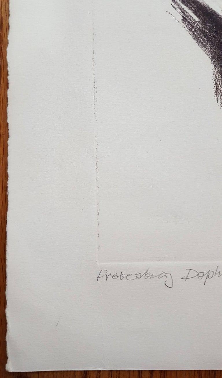 Daphne - Cubist Print by Albrecht Steinert