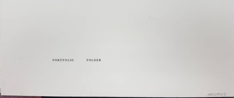 Formulation: Articulation, Folio II / Folder 6 (B) 8