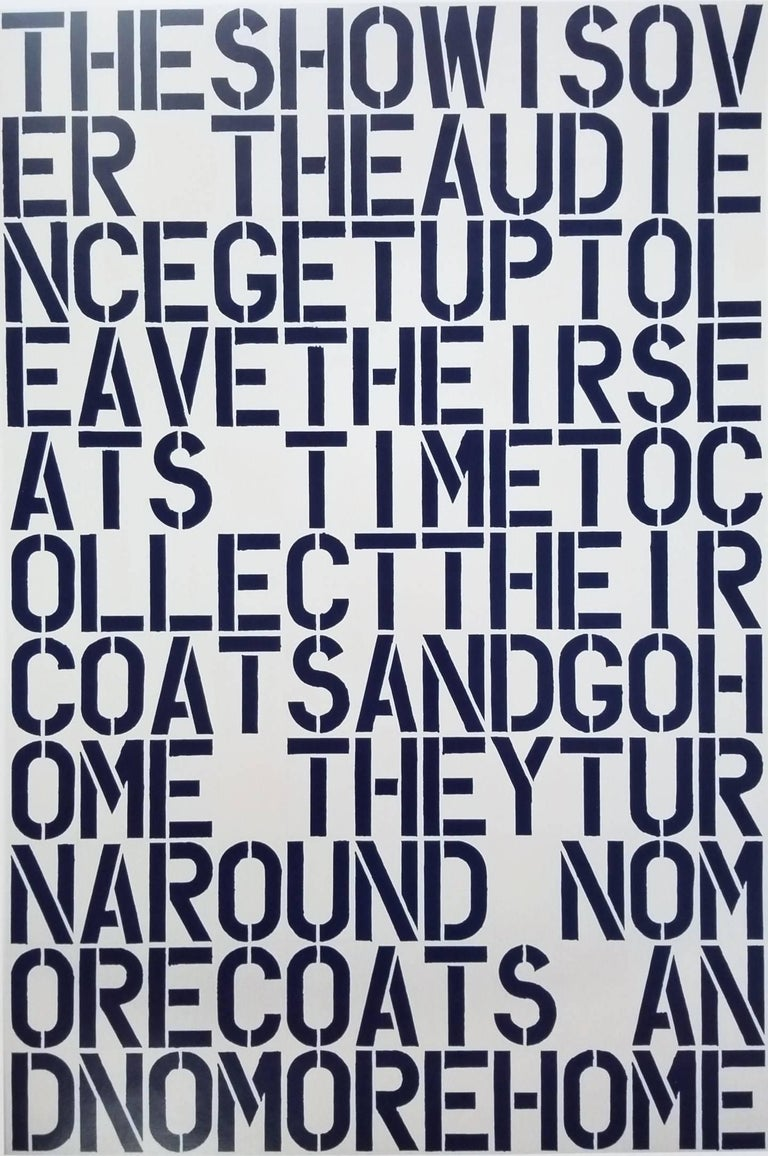 Dallas Museum of Art - Print by (after) Christopher Wool