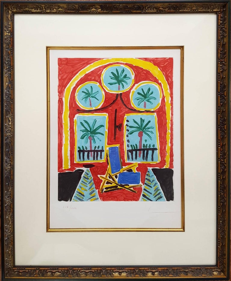 La Fenetre de L'atelier a la Californie (The Window Of The Studio La Californie) - Print by (after) Pablo Picasso