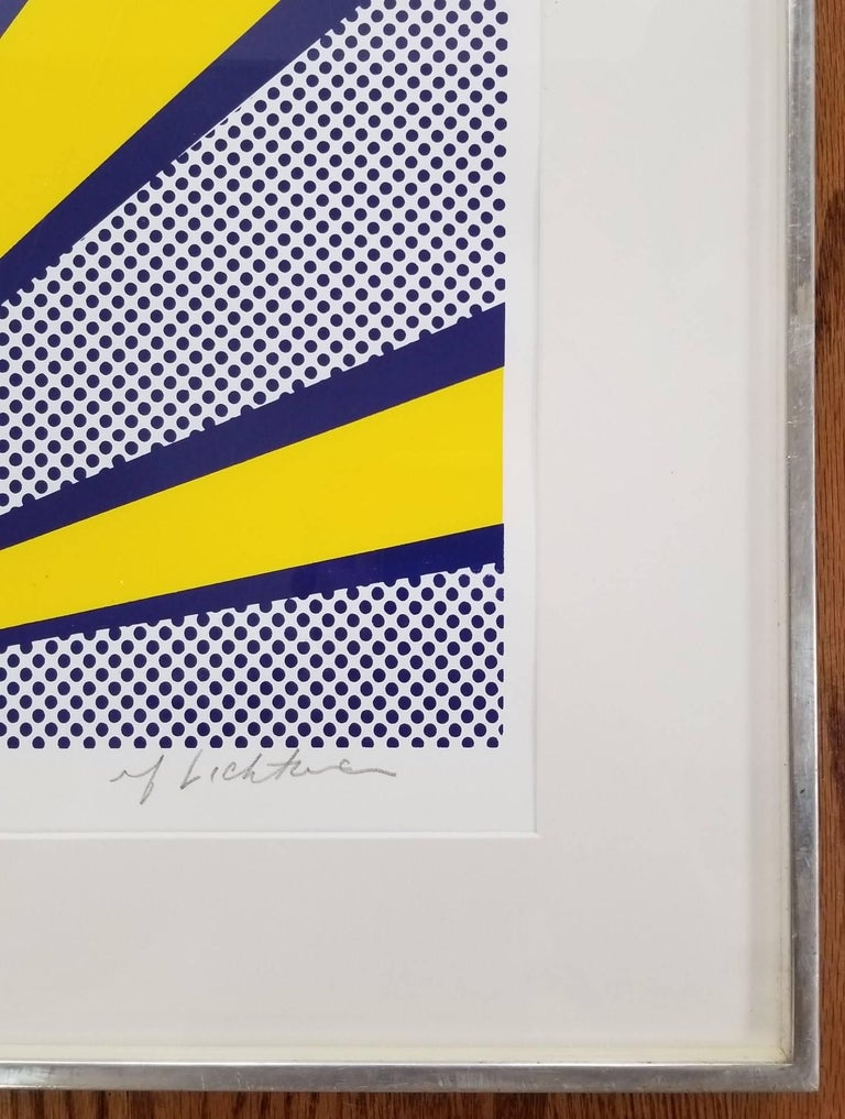 Joanna (III.24) - Pop Art Print by Roy Lichtenstein