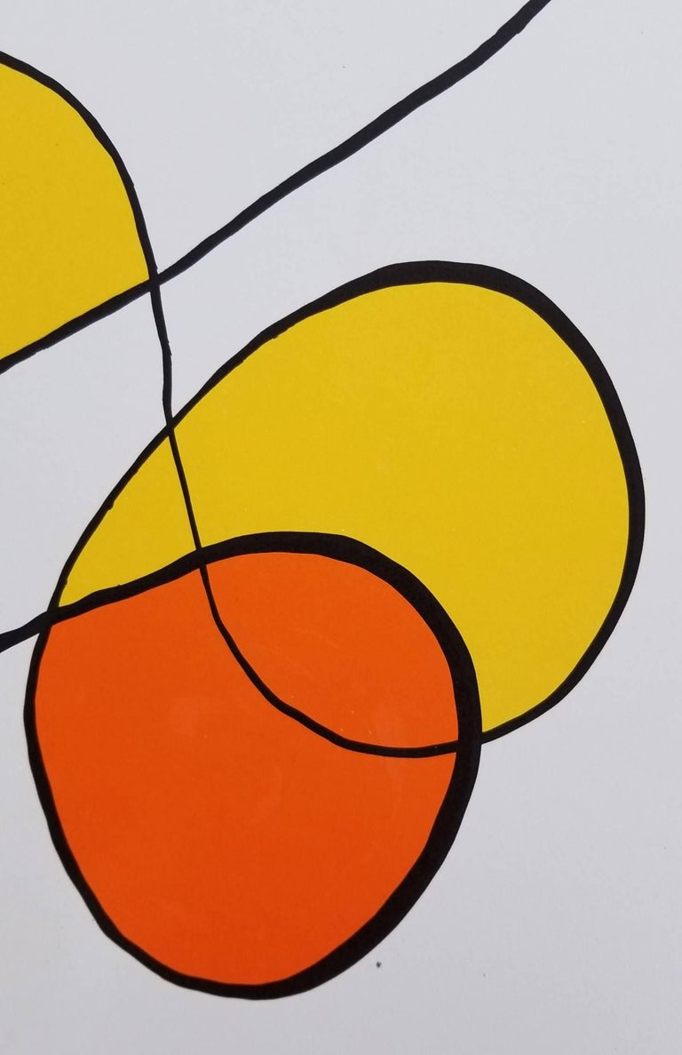 Alexander calder derri re le miroir no 173 abstract iv for Derriere le miroir