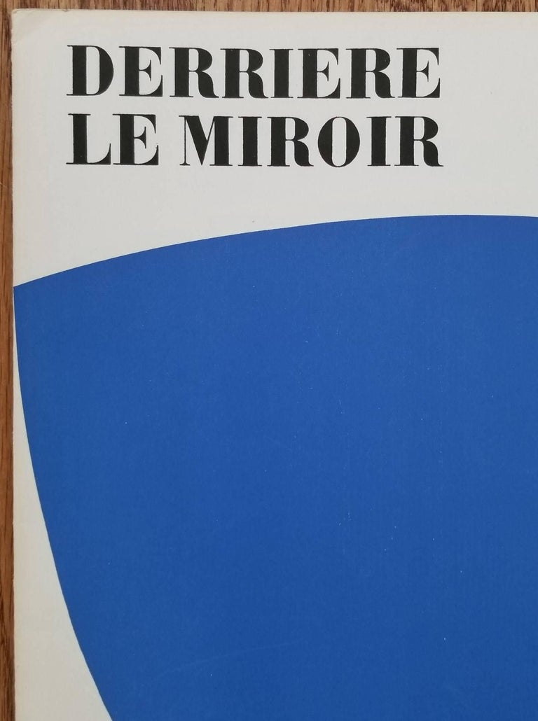 Ellsworth kelly derri re le miroir no 110 front cover for Derriere le miroir