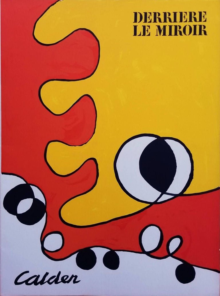 Alexander Calder - Derriere Le Miroir No. 173 (front cover)  1