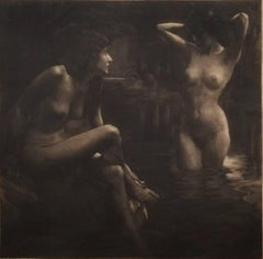 Bathers in a Grotto