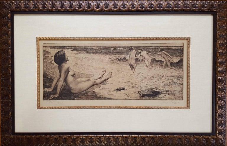 By the Sea - Print by Georg Jahn